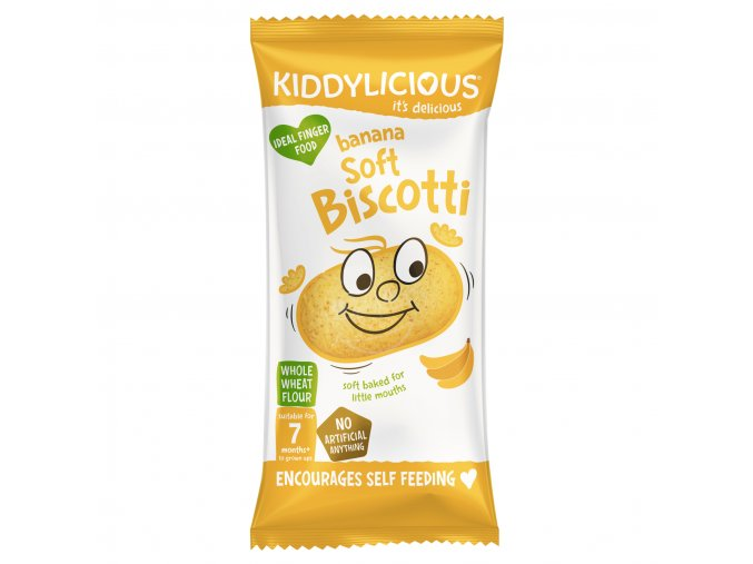 UK SOFT BISCOTTI Banana Sachet20g viz