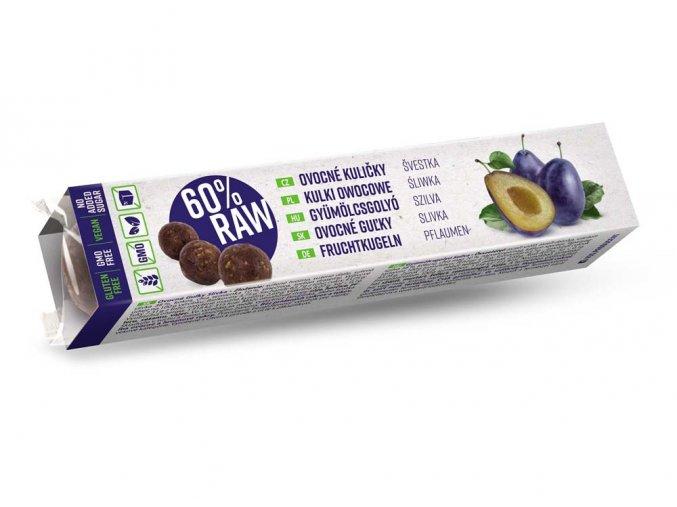RAW Ovocné kuličky švestka 40 g