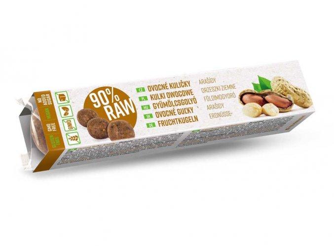 RAW Ovocné kuličky arašidy 40 g