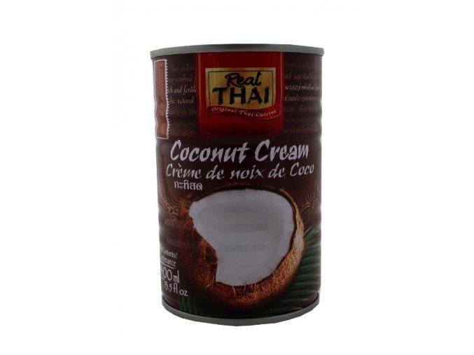 kokosovy krem 400ml real thai 01