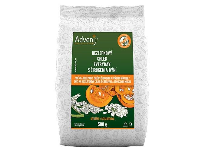 chleb everyday s cirokem a dyni