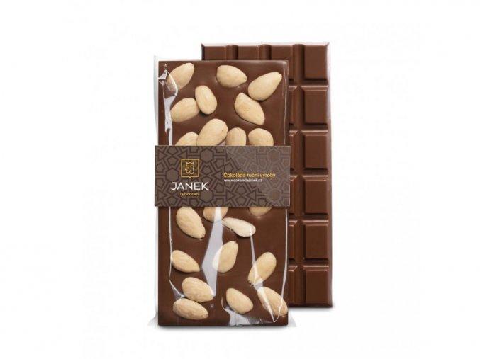 92 1 tabulka mlecne cokolady s mandlemi cokoladovna janek jpg