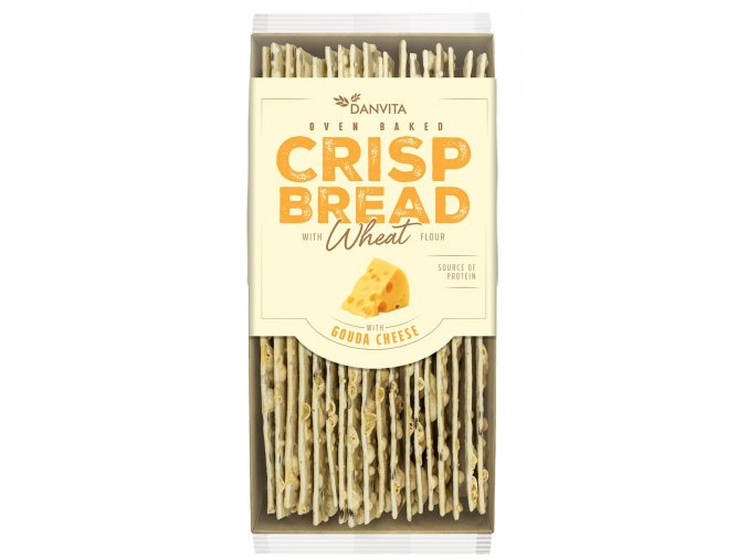 CRISP BREAD Wheat GAUDA CHEESE