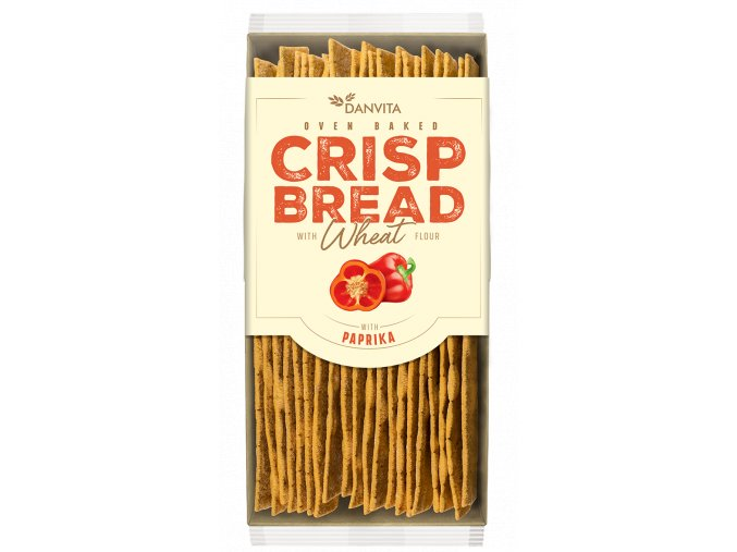 CRISP BREAD Wheat PAPRIKA
