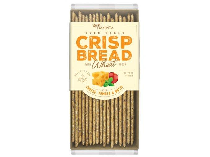 CRISP BREAD Wheat CHEESE TOMATO & BASIL