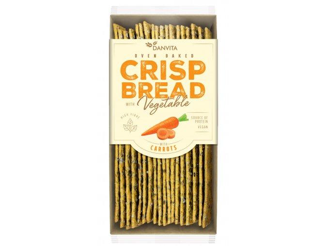 CRISP BREAD Vegetable CARROT