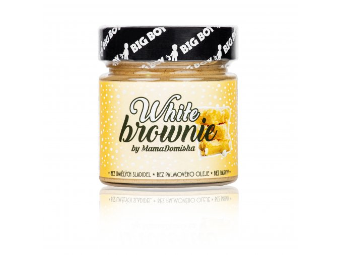 white brownie