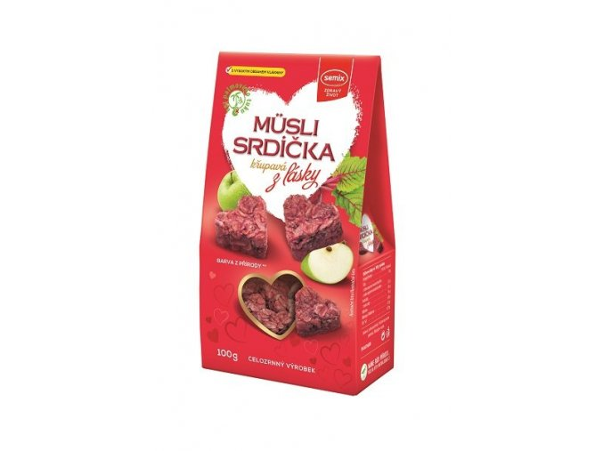 Semix Musli srdíčka z lásky 100g