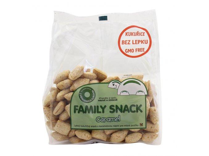 Family snack KARAMEL sáček 165g