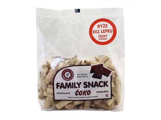 Family snack ČOKO sáček 165g