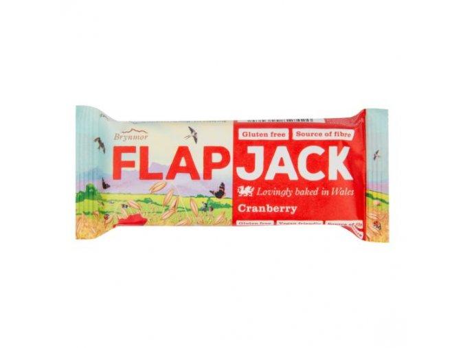 WHOLEBAKE Flapjack ovesný brusinka 80g