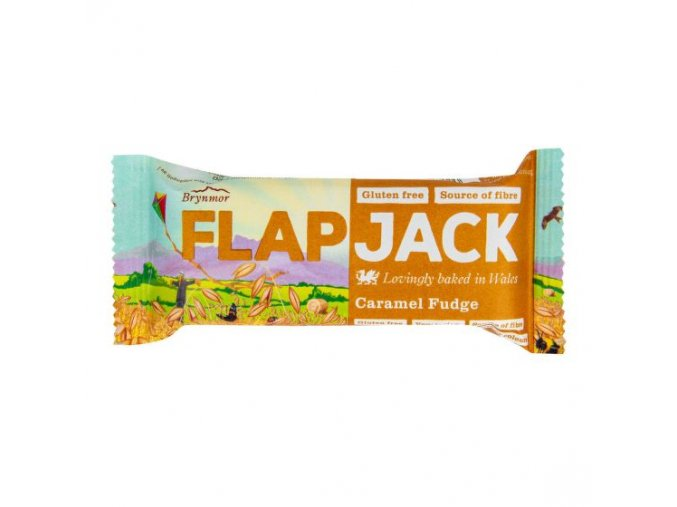 WHOLEBAKE Flapjack ovesný karamel 80g