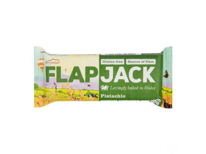 WHOLEBAKE Flapjack ovesný pistácie 80g