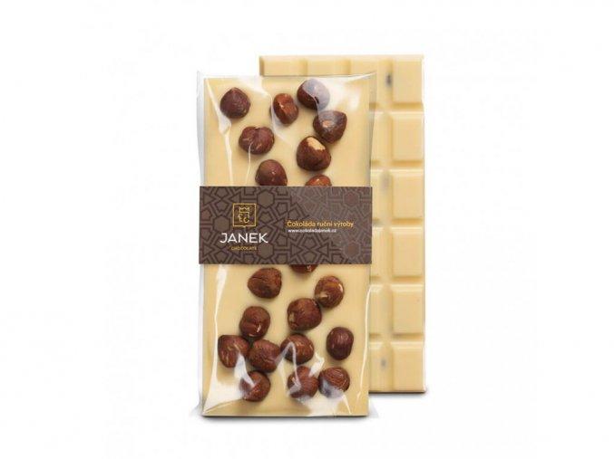 236 tabulka bile cokolady s liskovymi orechy cokoladovna janek jpg