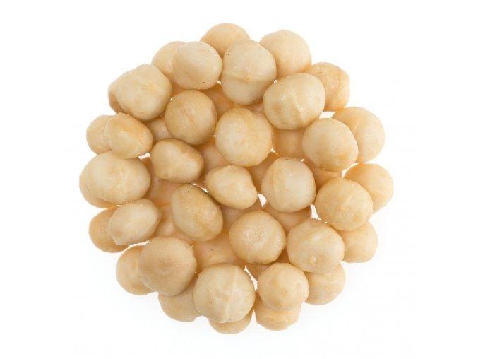 Makadamové ořechy pražené solené