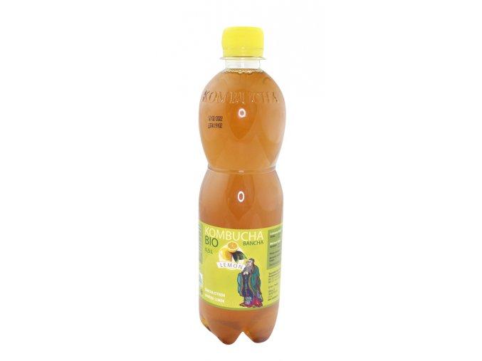 Stevikom Kombucha 0,5l bancha lemon BIO