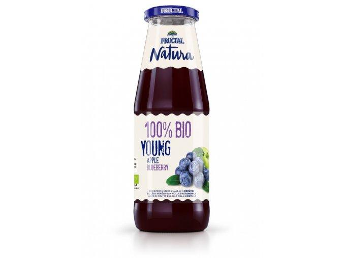 Fructal Natura borůvka BIO 0,7l