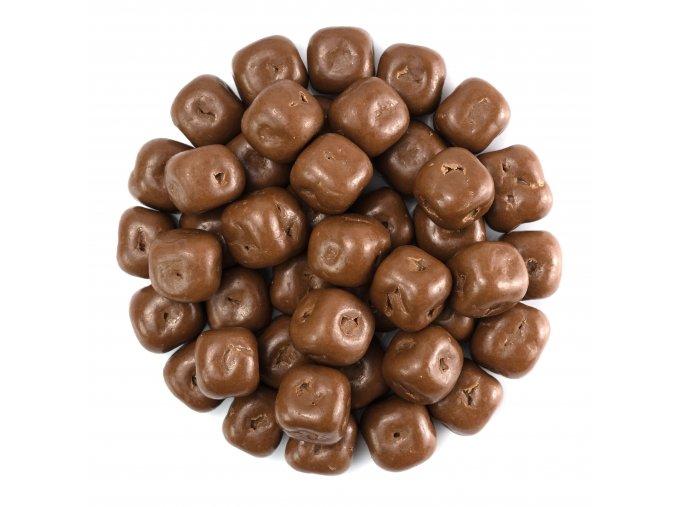 Kokos kostka v mléčné čokoládě
