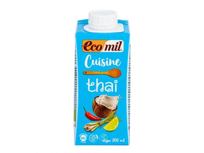 Ecomil Kokosová alternativa smetany THAI 200ml BIO