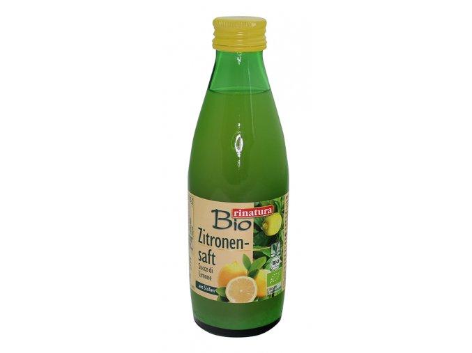 Rinatura Citronová šťáva 100% BIO 250ml