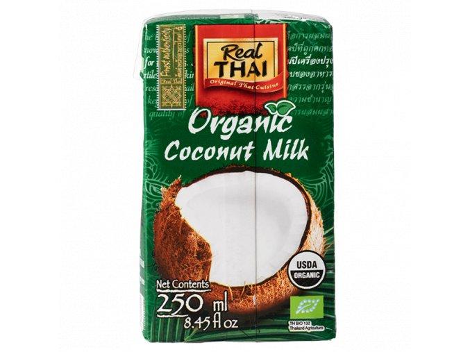 Real Thai Kokosové mléko BIO 250ml