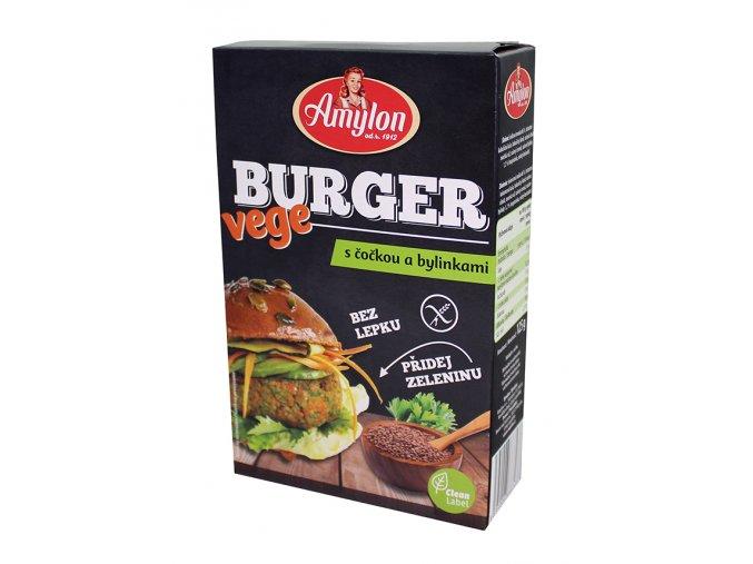 Amylon Vege burger s čočkou a bylinkami BZL 125g