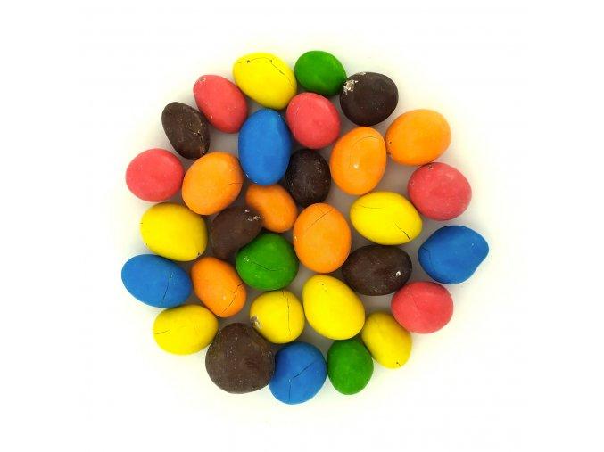 Arašídy v barevné čokoládě