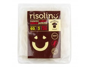 RISOLINO Polévka inst. rýžová HOUBOVÁ 60g