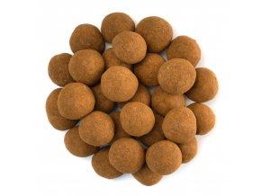 Lískové ořechy v mlléčné čokoládě se skořicí