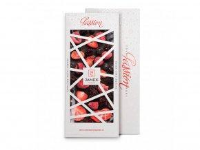 77 tabulka horke cokolady passion 72 procent s lyofilizovanym ovocem cokoladovna janek jpg