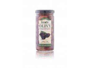 Kreolis olivy KAlamata bez pecky 240g černé víčko nové