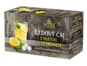 GREŠÍK Ledový čaj s mátou a citrónem 20 n.s.