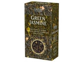 GREŠÍK Čaje 4 světadílů Green Jasmine z.č. 70 g