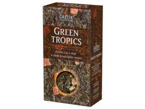 GREŠÍK Čaje 4 světadílů Green Tropics z.č. 70 g