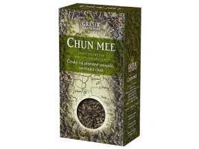 GREŠÍK Čaje 4 světadílů Chun Mee z.č. 70 g