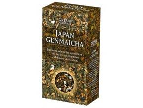 GREŠÍK Čaje 4 světadílů Japan Genmaicha z.č. 70 g