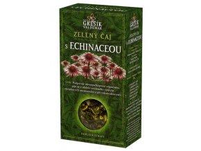 GREŠÍK Čaje 4 světadílů Zel. čaj s echinaceou 70 g