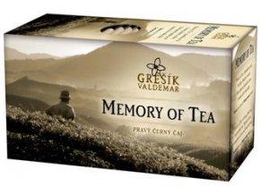 GREŠÍK černý čaj Memory of Tea 20 n.s.