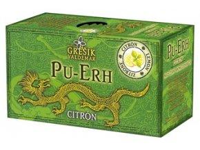 GREŠÍK černý čaj Pu-Erh Citrón 20 n.s.