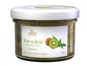 GREŠÍK Džem Kiwi & Aloe 200 g