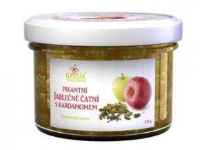 GREŠÍK Čatní Pikantní jablečné s kardamomem 215 g