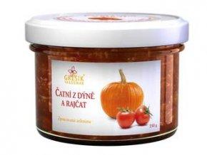GREŠÍK Čatní Z dýně a rajčat 210 g