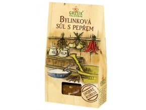 GREŠÍK Dobré koření Bylinková sůl s pepřem 40 g
