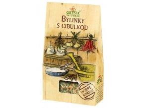GREŠÍK Dobré koření Bylinky s cibulkou 60 g