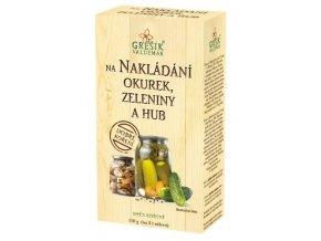 GREŠÍK Dobré koření Na nakládání okurek, zeleniny a hub 110 g