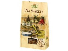 GREŠÍK Dobré koření Na špagety 30 g