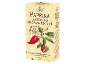GREŠÍK Dobré koření Paprika lahůdková maďarská 100g