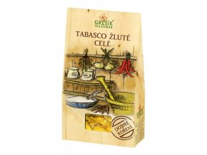 GREŠÍK Dobré koření Tabasco žluté celé 5g