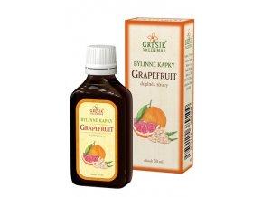 Grešík Bylinné kapky Grapefruit kapky 50 ml
