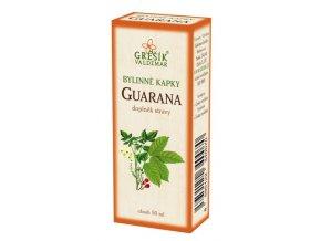 Grešík Bylinné kapky Guarana kapky 50 ml